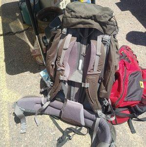 Kelty coyote 80 backpack hiking trail frame bag
